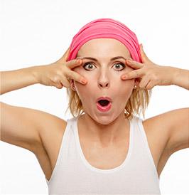 3 účinné cviky na spevnenie ochabnutých očných viečok